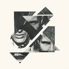 #11 - I really like how this album is a collage built from triangles but the parts of the image are collaged in a mixed up order
