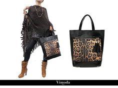 Vimoda assume son côté non conventionnel avec ce magnifique sac cabas imprimé léopard #style #maroquinerie #collection #look