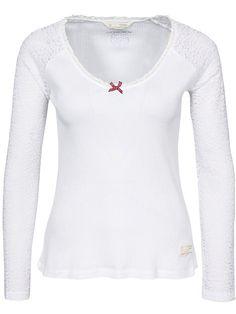 Dream Team Top - Odd Molly - Bright White - Toppar - Kläder - Kvinna - Nelly.com