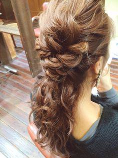 ヘアアレンジ*ヘアセット*ヘアスタイル*ヘア*wedding*hair*hairdo*arrange
