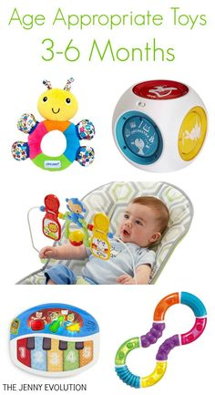 Best Infant Toys 3-6 months for babies