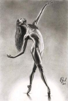 Bend it like Ballet by FaeryWing on DeviantArt Ballet Painting, Dance Paintings, Ballet Art, Ballet Drawings, Pencil Art Drawings, Art Drawings Sketches, Ballerina Kunst, Ballerina Sketch, Ballet Pictures