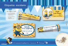 Etiquetas Escolares Personalizadas - Packmagic
