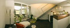 Wohnbereich #penthouse #interior Architekt: DI Bernd Ludin, Foto: Gerda Eichholzer Oversized Mirror, Interior, Furniture, Home Decor, Commercial Real Estate, Living Area, Homes, Homemade Home Decor, Indoor