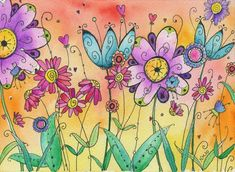 pretty watercolor art
