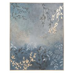 GOLDEN LEAVES print 64 x 80 cm