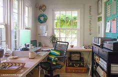 Un taller de costura lleno de encanto