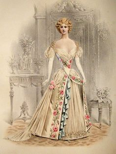 1890s fashion prints - Google Search