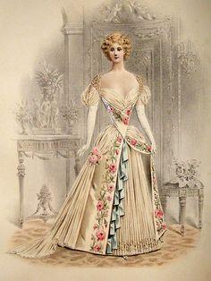 1890s fashion prints - Google Search
