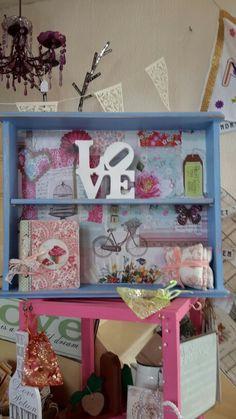 Sandra's shelf