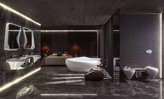 3 Badgestaltung Ideen Traumbader Badezimmer In Weis Mit Weiser Retro  Badewanne | Badezimmer Ideen U2013 Fliesen, Leuchten, Dekoration | Pinterest ...