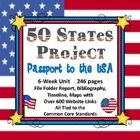Don't just study the 50 states!  Use this highly motivating 6-week 50 states project where students take charge of their learning and become tourism directors. Updated 2-28-13