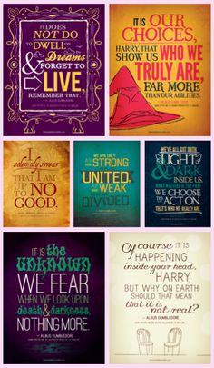 Harry Potter Sayings by krystal357