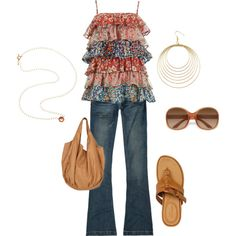 Casual, created by brandy-bozeman-dyess on Polyvore