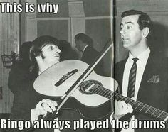 Ringo Starr will always be the drummer.