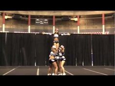 Senior Group Stunt hit on March at Golden Ticket Competition at the Agrodome! Cheerleading Videos, School Cheerleading, Cool Cheer Stunts, Cheer Routines, Golden Ticket, Gymnastics, Competition, Dance, Group