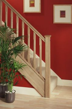 Image result for wainscoting with shelf on landing stairs