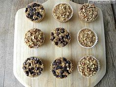 Art Baked oatmeal muffins- to send in lunch box instead of granola bars next year kids-snacks