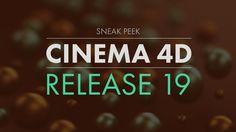 Cinema 4D R19 Sneak Peek - New Features