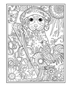172 best Marjorie Sarnat Coloring Pages images on Pinterest ...
