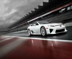 Awesome White Lexus LFA | hd car wallpapers | #lexuslfa #hdcarwallpapers | http://yours-cars.eu/LEXUS/Lexus7.htm