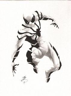 Future Foundation Spider-Man by Matt Slay
