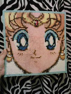 Sailor Moon Sailor Scouts Epic Perler by LunaAndEvesBoutique