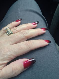 My smoked out shellac. Red baroness with black additives.