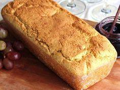 Pão Salgado de Fubá (Sem glúten)