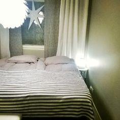 Time for bed. #makuuhuone #myhome #koti #home #bedroom #interior #inredning #interiors #sisustus #pentik #pellavalakanat #linen