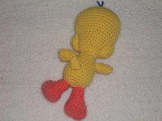 free pattern-crochet tweety bird
