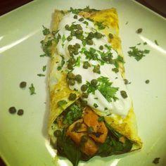 tortilla salmón