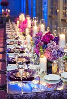 33 Lavender Wedding Decor Ideas You Will Love Purple Wedding Tables, Wedding Colors, Wedding Flowers, Lilac Wedding, Dream Wedding, Wedding Dresses, Wedding Table Centerpieces, Reception Decorations, Reception Table