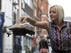 This London restaurant has a sushi drone.
