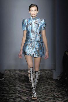 Balenciaga at Paris Fashion Week Spring 2008
