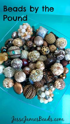 Get your kids beading with a pound of beads
