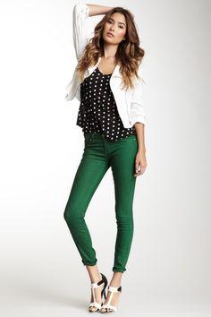 $35.00  $88.00  60% off  Spray On Colored Skinny Jean by Blank Denim on @HauteLook