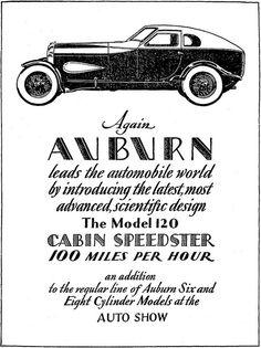 auburn 1929 by Captain Geoffrey Spaulding, via Flickr