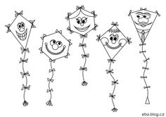 Základní škola a Mateřská škola Motýlek Art For Kids, Crafts For Kids, Autumn Activities For Kids, Board Decoration, Kite, Drake, Hair Accessories, Children, Blog