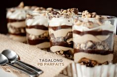 Trend Alert: Girl Scout Cookies Into Designer Desserts! Tagalong PB Parfaits by My Baking Addiction