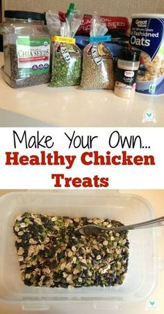 How to make healthy chicken treat scratch