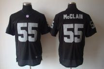 Oakland Raiders #55 Rolando McClain Elite Black Jersey