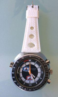Rare Chrono Plongée Sicura Breitling Ordrive Regatta Yacht 46 mm in Bijoux, montres, Montres, Montres classiques | eBay
