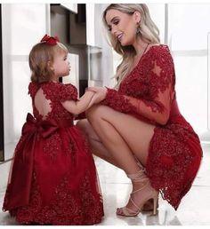 Vestido mama e hija