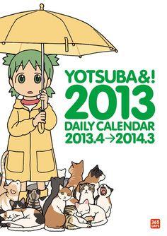 Yotsuba&! 2013 Daily Calender