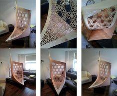 Josh Haywood Designs Stunning Lasercut Plywood Pavilion for Bu...