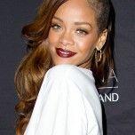 Rihanna's partly shaved head