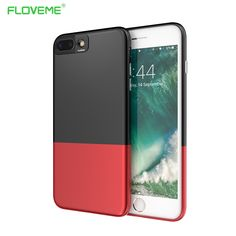 FLOVEME Hard Case For iPhone 7 7 Plus Luxury Hit Color Shell Super Slim 2 in 1 Protective Back Cover For iPhone 6 6s Plus Capa Price: USD 11.65 | United States