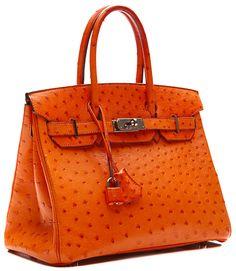 Hermès Birkin Bag/ Orange