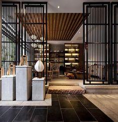 新中式 - Google Search Chinese Interior, Asian Interior, Japanese Interior, Modern Interior, Interior Design, Wall Design, House Design, Partition Screen, Chinese Design